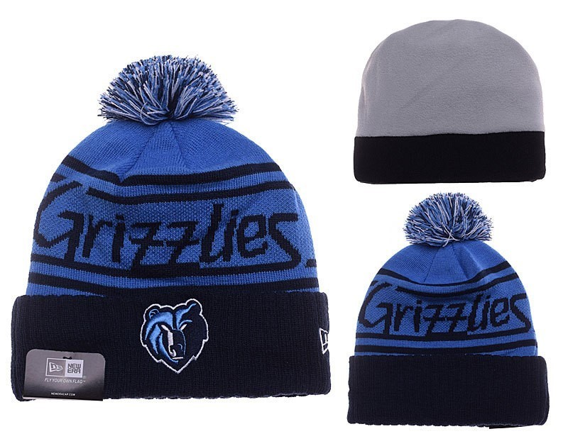 Knit Hats Memphis Grizzlies 2018 Blue