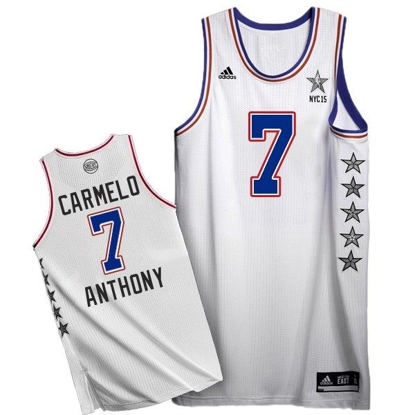 NBA All Star Jerseys 2015 Carmelo Anthony 7 White