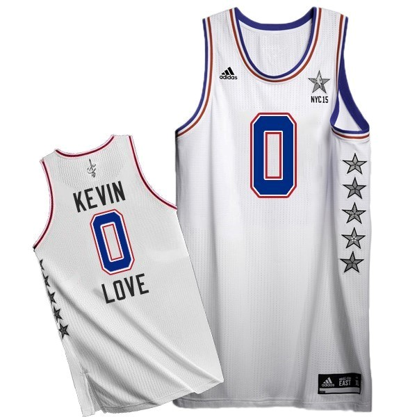NBA All Star Jerseys 2015 Kevin Love 0 White