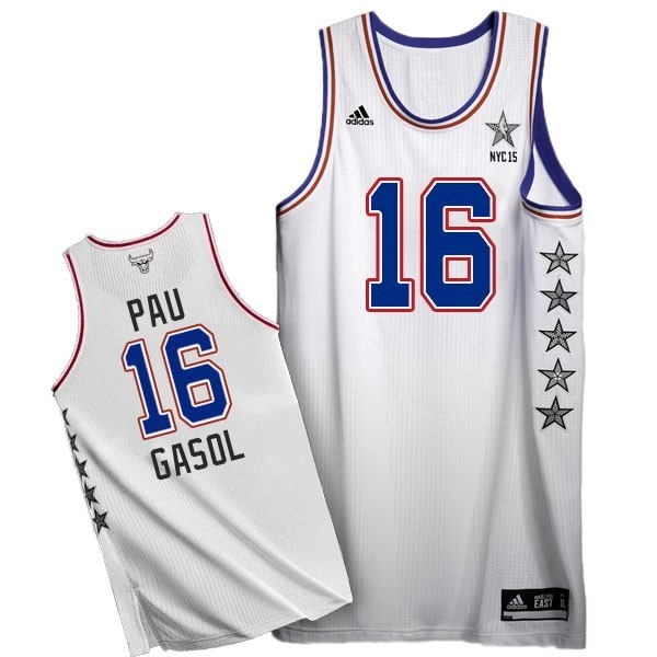 NBA All Star Jerseys 2015 Pau Gasol 16 White