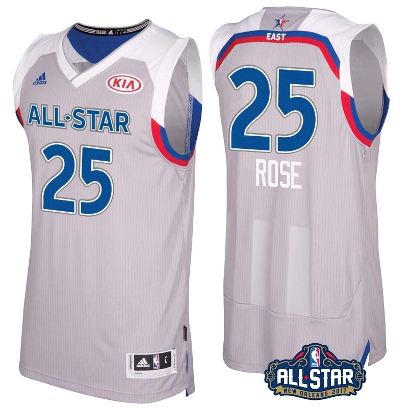 NBA All Star Jerseys 2017 Derrick Rose 25 Gray