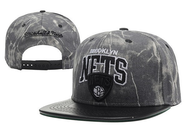 NBA Hats Brooklyn Nets 2018 Retro Grey