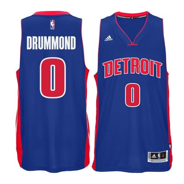 NBA Jerseys Andre Drummond 0 Blue
