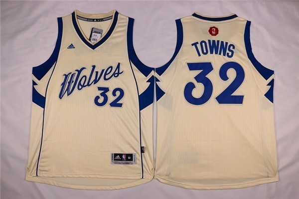 NBA Jerseys Christmas Towns 32 White