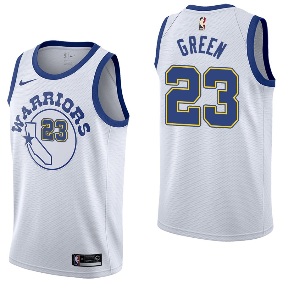 NBA Jerseys Draymond Green 23 Nike Retro White