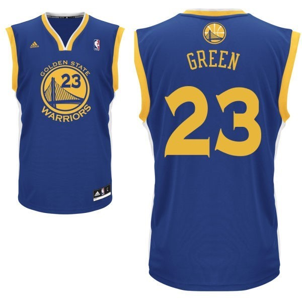 NBA Jerseys Draymond Green Blue 23