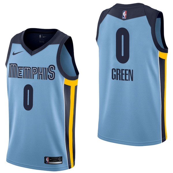 NBA Jerseys JaMychal Green 0 Blue Statement