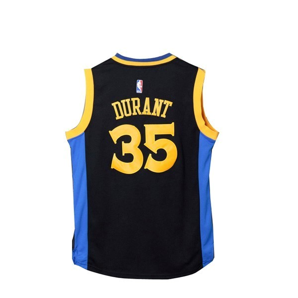 NBA Jerseys Kevin Durant 35 Black Yellow