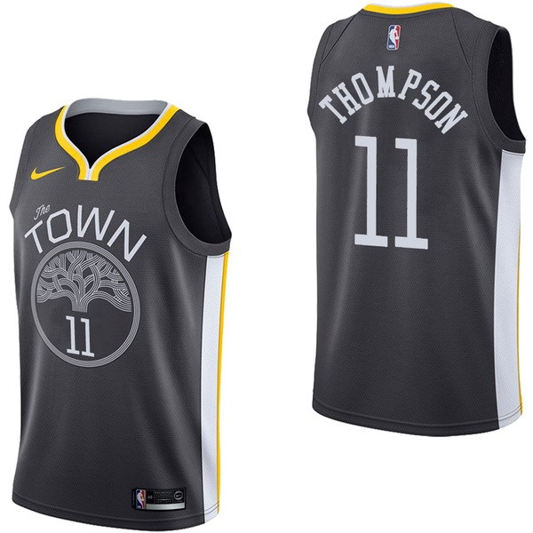 NBA Jerseys Klay Thompson 11 Black Statement