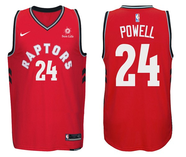 NBA Jerseys Norman Powell 24 Red