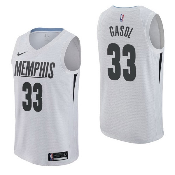 NBA Jerseys Pau Gasol 33 Nike White