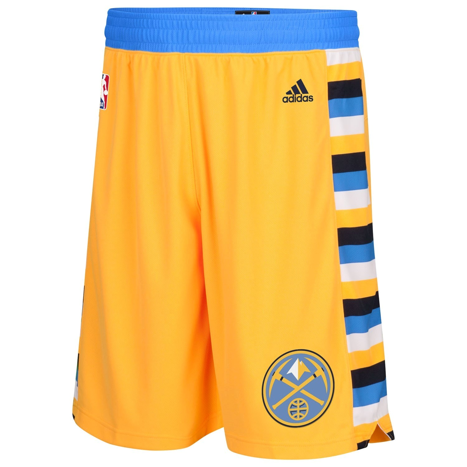 NBA Shorts Denver Nuggets Yellow