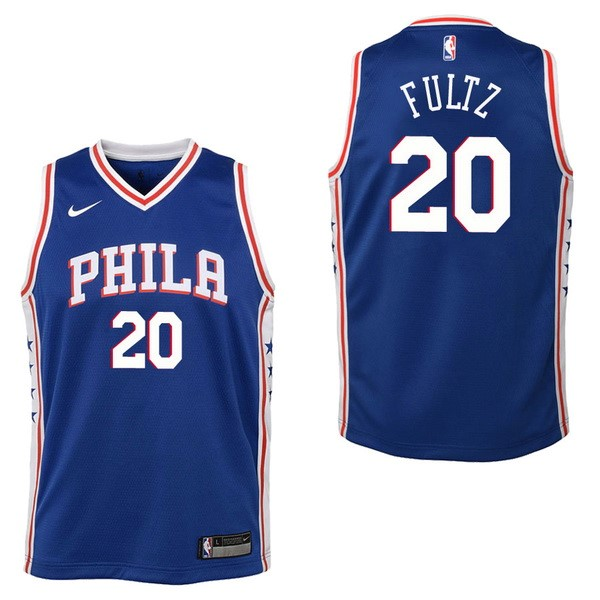 Kids NBA Jersey Markelle Fultz 20 Blue Icon