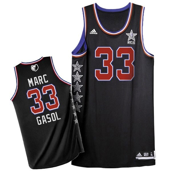 NBA All Star Jerseys 2015 Marc Gasol 33 Black