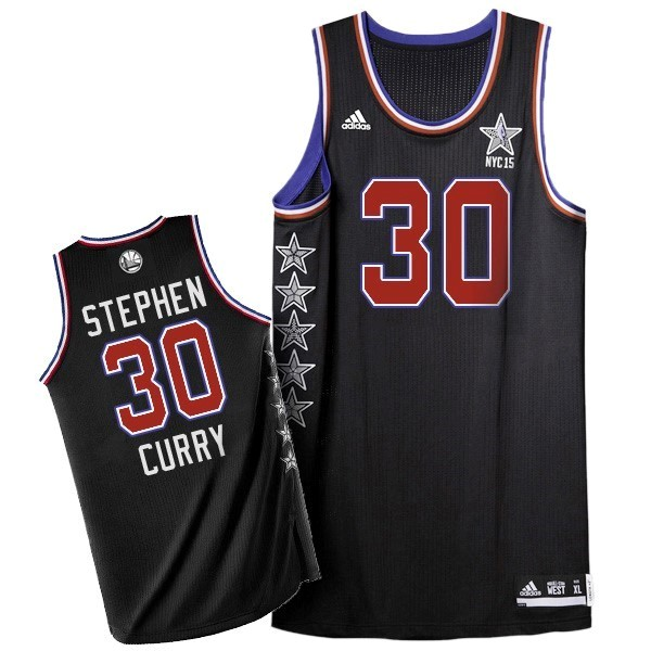 NBA All Star Jerseys 2015 Stephen Curry 30 Black