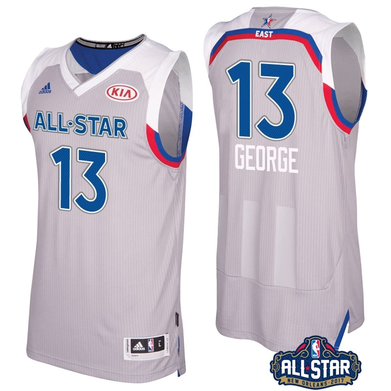NBA All Star Jerseys 2017 Paul George 13 Gray