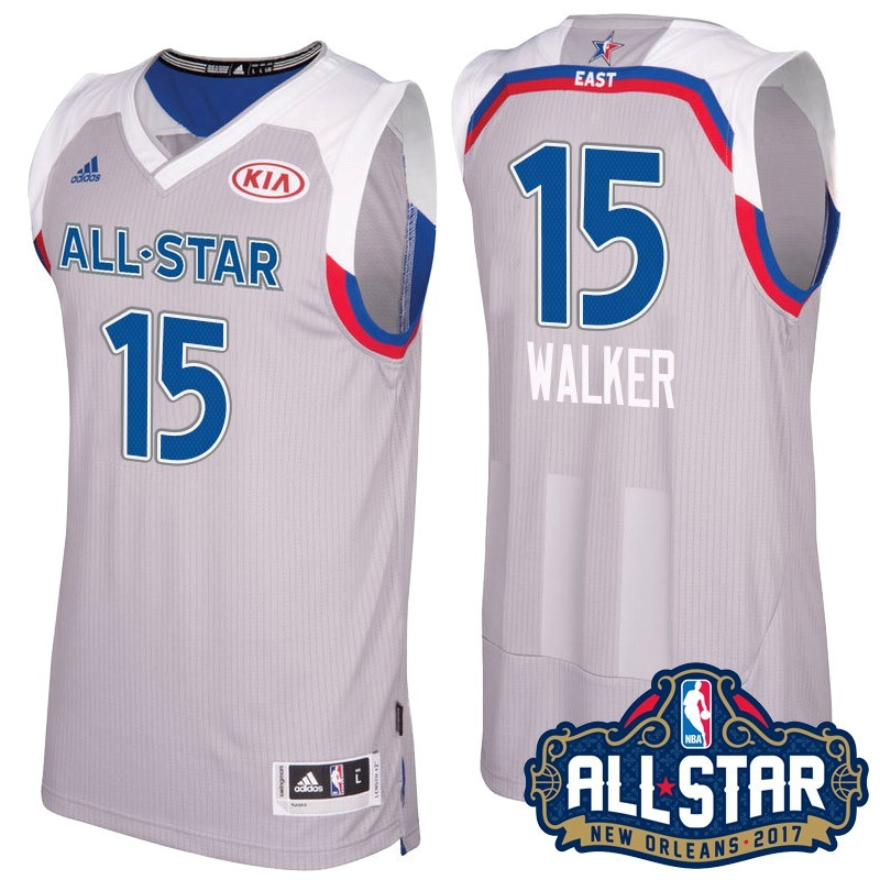NBA All Star Jerseys 2017 kemba Walker 15 Gray