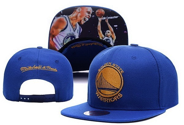 NBA Hats Golden State Warriors 2018 Blue 1