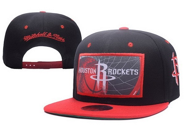 NBA Hats Houston Rockets 2017 Red Grey