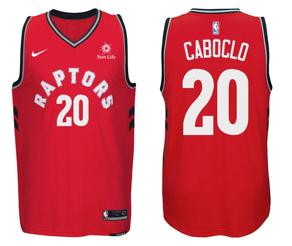 NBA Jerseys Bruno Caboclo 20 Red