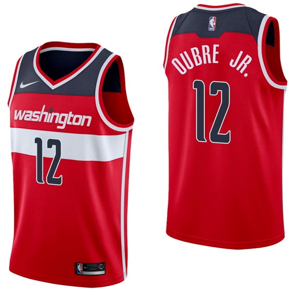NBA Jerseys Kelly Oubre Jr 12 Red Icon