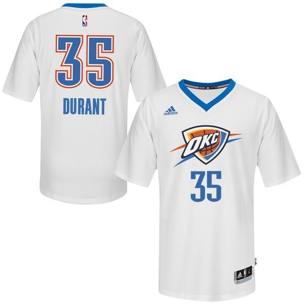 NBA Jerseys Kevin Durant White 35