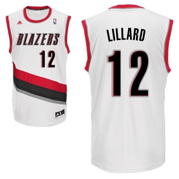 NBA Jerseys LaMarcus Aldridge 12 White
