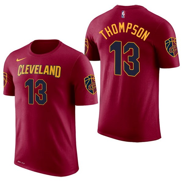 NBA Short Sleeve Tristan Thompson 13 Red