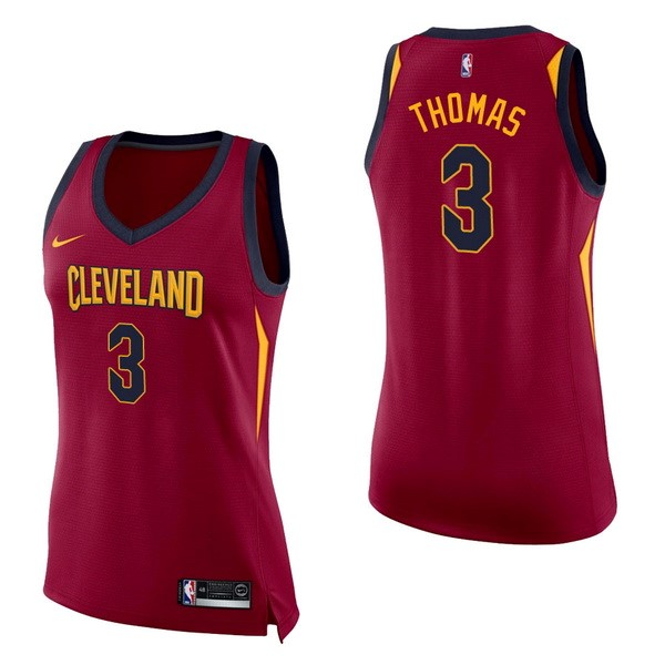 Womens NBA Jersey Isaiah Thomas 3 Red Icon